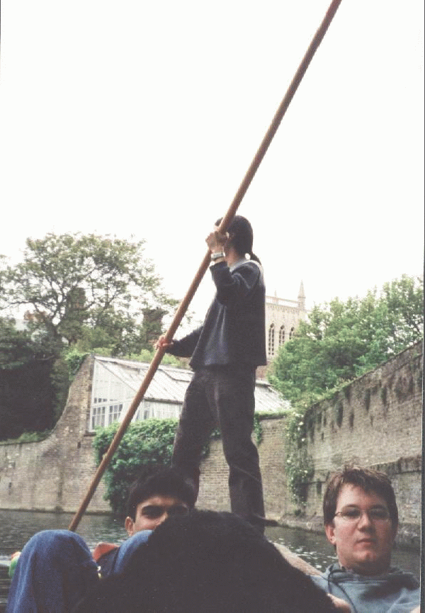Ben, Mike and Jack - punting